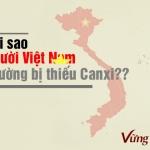 Những nguyên nhân khiến người Việt Nam thường bị thiếu canxi