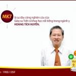 MK7 là dự dày công nghiên cứu của GS.TS Hoàng Tích Huyền